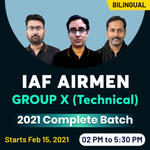 Indian Airforce Group X (Technical) Online Coaching | Complete Live Bilingual IAF Coaching for Airmen Group X by Adda247