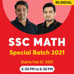 SSC Math Special Batch 2021 | Study Mathematics for SSC with Live Bilingual SSC Math Online Classes from Adda247