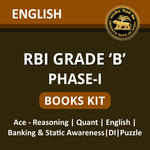 RBI Grade B Books for Phase-I (With Solutions) in English Medium by Adda247