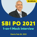 SBI PO 2021 1-on-1 Mock Interview | Bilingual | Live Class