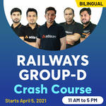 Crash Course batch for Railway Group D | Bilingual Live Class By Adda247