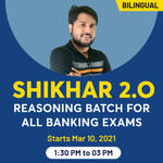 SHIKHAR 2.O Reasoning Batch for All Banking exams | Bilingual Live Class by Adda247