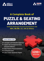 A Complete Book of Puzzles & Seating Arrangement (Third Printed English Edition)
