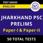 Jharkhand PSC Mock Tests for Prelims (With Solutions) 2021 by Adda247