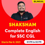 Shaksham Complete English for SSC CGL Batch | Live Classes By Adda247