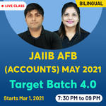 JAIIB AFB (Accounts) May 2021 Target Batch 4.0 | Bilingual Live Classes By Adda247