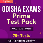 Odisha Prime Test Pack | All Tests For Odisha PSC, High Court ASO, and Other State Government Exams
