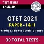OTET 2021 Online Test Series for Paper-I & Paper-II