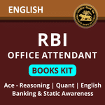 RBI Office Attendants Books Kit 2021 With Solutions (English Edition) by Adda247