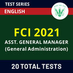 FCI Assistant General Manager 2021 Online Test Series