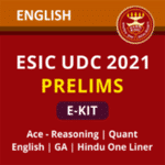 ESIC UDC Prelims eBooks Kit 2021 (English Medium )