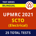 UPMRC Electrical SCTO 2021 Online Test Series
