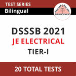 DSSSB JE Electrical 2021 Online Test Series