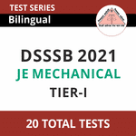 DSSSB JE Mechanical 2021 Online Test Series