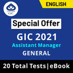 GIC Assistant Manager (General) Scale-I 2021 Online Test Series (Special Offer)