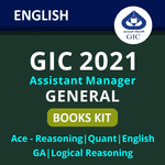 GIC Assistant Manager Books Kit (English Printed Edition)