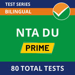 NTA Delhi University Prime Pack for Senior Assistant, Junior Assistant, Technical Assistant, Assistant, Laboratory Assistant and Laboratory Attendant 2021 Online Test Series
