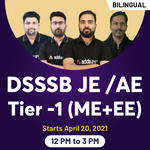 DSSSB JE /AE Tier -1 (ME + EE) | Bilingual Live classes By Adda247