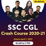 SSC CGL Crash Course 2020-21 | Bilingual Live classes By Adda247