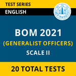 Bank Of Maharashtra (GENERALIST OFFICERS) Scale-II 2021 Online Test Series