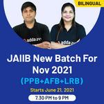 JAIIB New Batch Nov 2021 (PPB+AFB+LRB) | Bilingual Live Classes By Adda247
