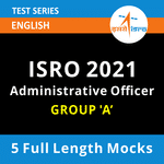ISRO Administrative Officer 2021 Online Test Series