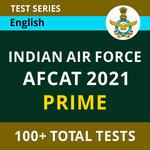 IAF AFCAT Prime 2021 Online Test Series