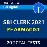 SBI Clerk Pharmacist 2021 Online Test Series