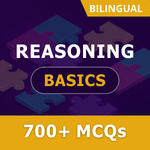 Reasoning Basics 2021 Online Test Series