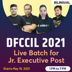 DFCCIL 2021 Batch For Junior Executive Post | Complete Batch | Bilingual (Hinglish) Live Classes by Adda247