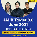 JAIIB Target 9.0 (PPB, AFB, LRB)  | Bilingual | Live Classes By Adda247