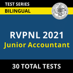 RVPNL Junior Accountant 2021 Online Test Series