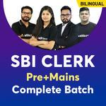 SBI Clerk Pre + Mains Complete Batch | Bilingual (Hinglish) | Live Classes By Adda247