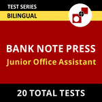 BANK NOTE PRESS (DEWAS) Junior Office Assistant 2021 Online Test Series