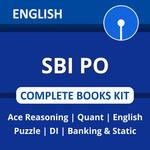 SBI PO 2021 Complete Books Kit (English Printed Edition)