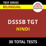 DSSSB TGT Hindi 2021 Online Test Series