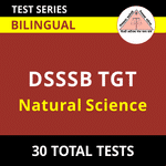 DSSSB TGT Natural Science 2021 Online Test Series