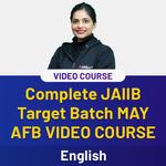 COMPLETE JAIIB TARGET BATCH MAY ENGLISH MEDIUM AFB VIDEO COURSE