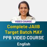 COMPLETE JAIIB TARGET BATCH MAY ENGLISH MEDIUM PPB VIDEO COURSE