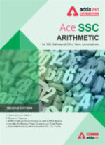 Arithmetic (Quant) Book for SSC CGL, CHSL, CPO and Other Govt. Exams (English Printed Edition)
