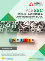 English Language Book for SSC CGL, CHSL, CPO and Other Govt. Exams (English Printed Edition)