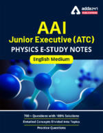 AAI Junior Executive (ATC) Physics Study Notes 2021 English Medium eBooks