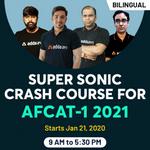 Super Sonic Crash Course for AFCAT 1 2021 | Quick Complete AFCAT Crash Course | Bilingual, Live AFCAT Classes by Adda247.