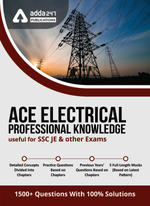 SSC JE Electrical Professional Knowledge eBook 2021 (English Medium)