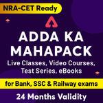 ADDA ka Mahapack: Live Class, Video Courses, Test Series and eBooks for Govt Jobs
