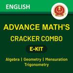 Advance Maths The Cracker Combo 2020 eBooks (English Medium)