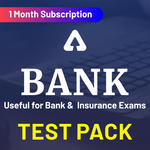 Bank Test Pack Online Test Series (1 Month)