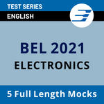 Bharat Electronics Limited 2021 (Electronics) Test Series
