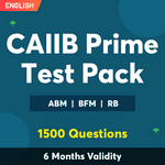 CAIIB Prime Test Pack Online Test Series for Paper-I, Paper-II & Paper-III Exams 2021-22