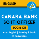 CANARA Bank SO IT Officer Books kit 2020-21 (English Printed Edition)